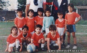 Messi ChildHood